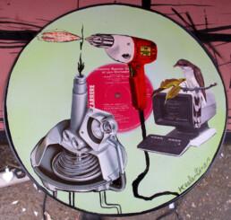 PIZZARTERIA Art Car Boot Fair 2013 KEELERTORNERO