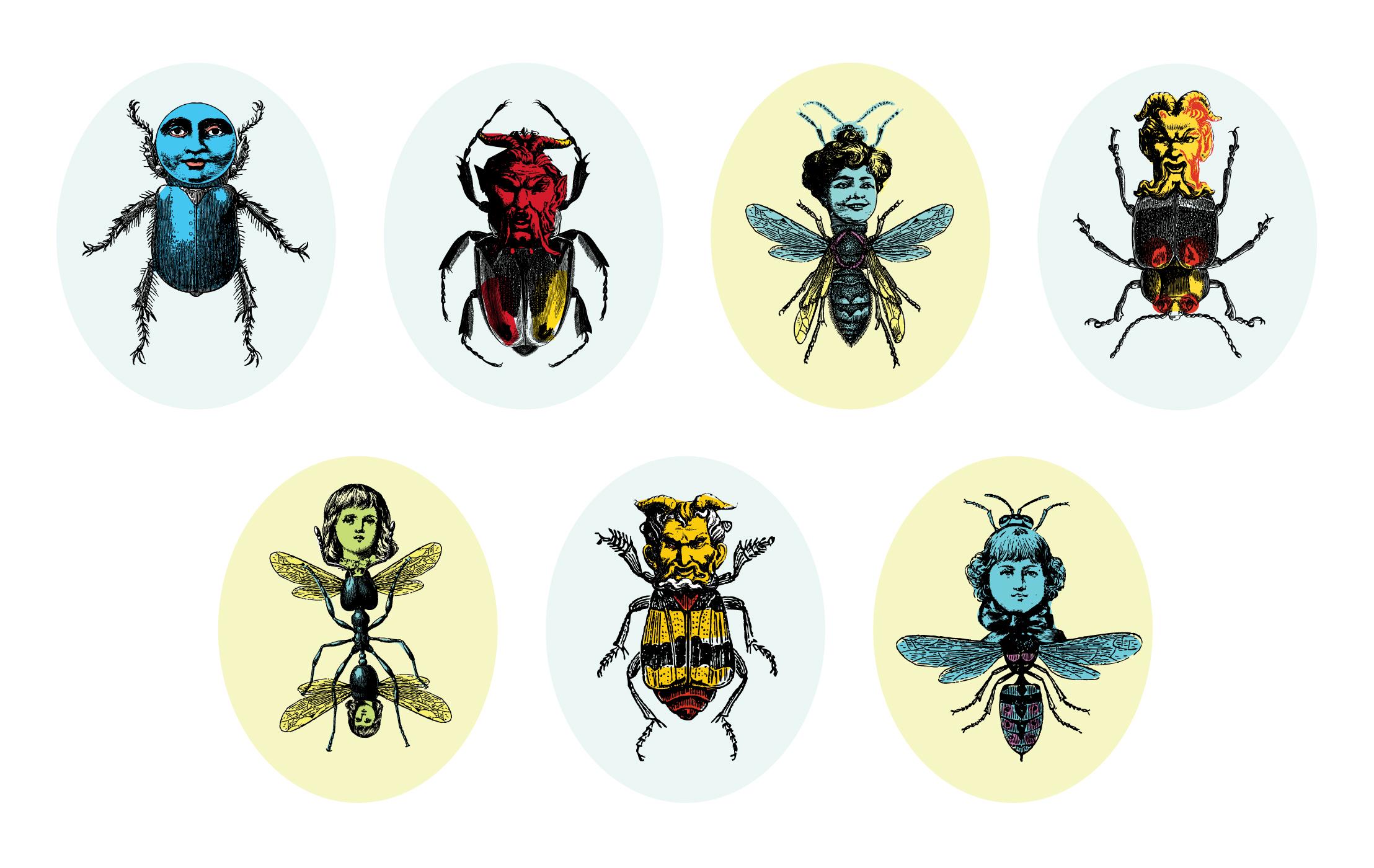 PESTIVAL Designs for Entomophobia at Wellcome Trust 2013 KEELERTORNERO