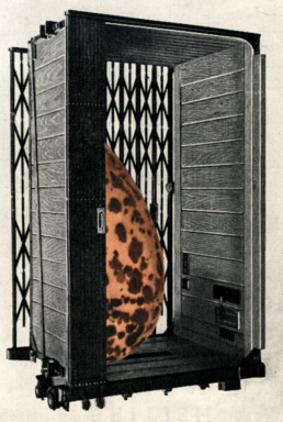 EGGLIFT 2 2012 Collage 9x14cm KEELERTORNERO