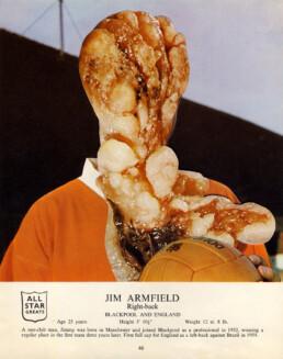 JIM ARMFIELD 2015 Collage 20x25cm KEELERTORNERO