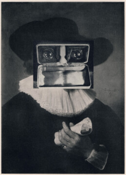 Portrait of a Musician 2013 Collage KEELERTORNERO