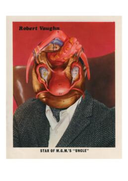 ROBERT VAUGHN 2013 Collage 20x25cm KEELERTORNERO