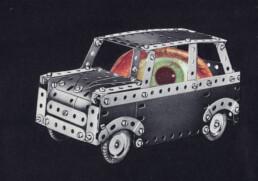 MICROCOLLAGE Series 3 No.11 2019 Collage 10x15cm KEELERTORNERO