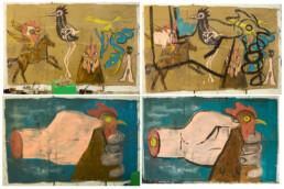 Shaun Caton Task. Cave paintings Work in progress KEELERTORNERO 2017